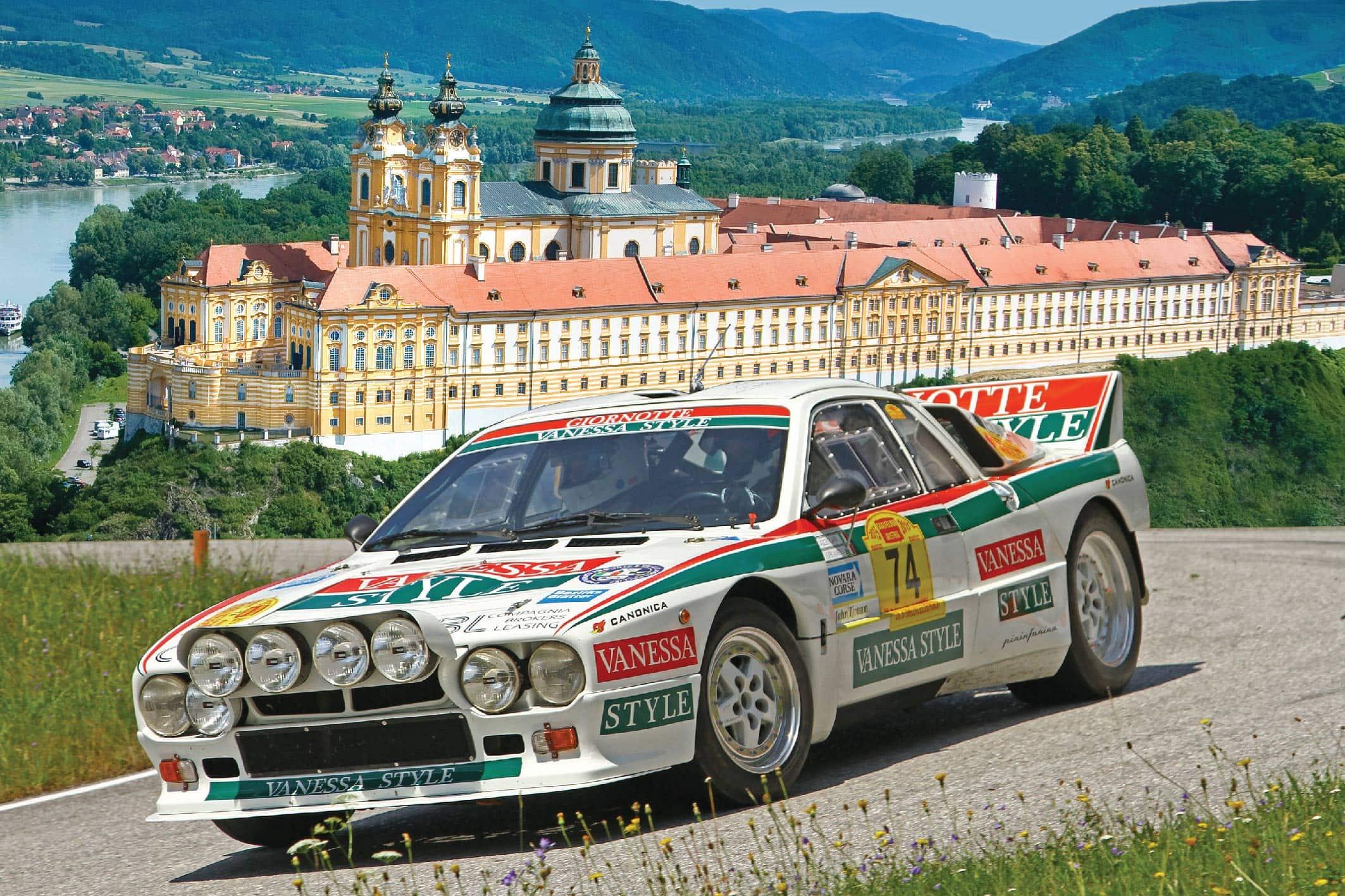 Gruppe B Rallyelegenden 2018